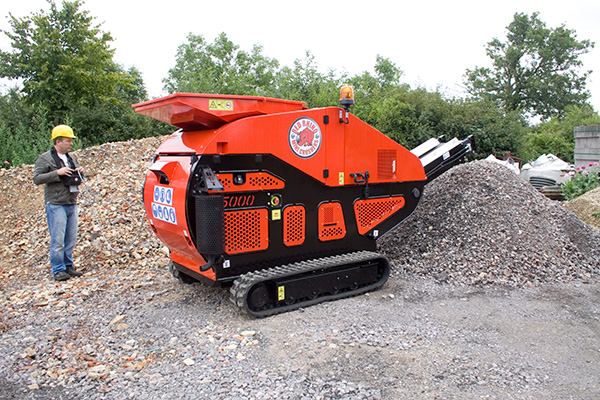 Portable Concrete Crusher Rental